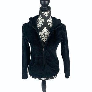 Patagonia Black Fleece Zip Up w/ Hood